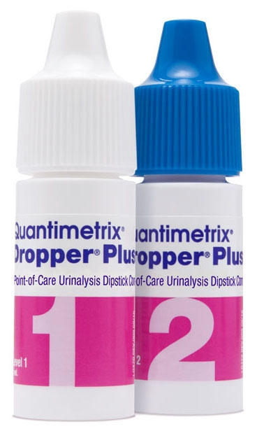QUX 144006 (2) 5 ML, Amber/Yellow, Bi-Level, Point-of-Care Urinalysis Dipstick Control