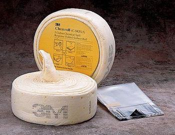 "THR CSKFL5 5"" x 26', 5 Gallon, Petroleum, Folded, Chemical Sorbent Spill Kit (1 Roll per Pack, 3 Rolls per Case)"