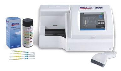 "MHB U031101 14.4"" x 11.1"" x 7.7"", 100 to 240 VAC 50 to 60 Hz, Flexible, Semi-Automatic, Urinalysis Reagent Strip"