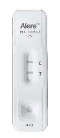 INV 92215 20 mIU/L Urine, 10 mIU/L Serum, 40-Test, Flexible Testing, hCG Combo Cassette