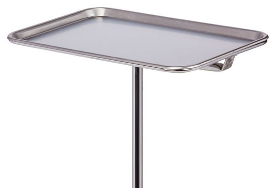 """CLN M24 19"""" x 12.75"""" x 0.75"""", Stainless Steel, Rimmed, Replacement Tray"""
