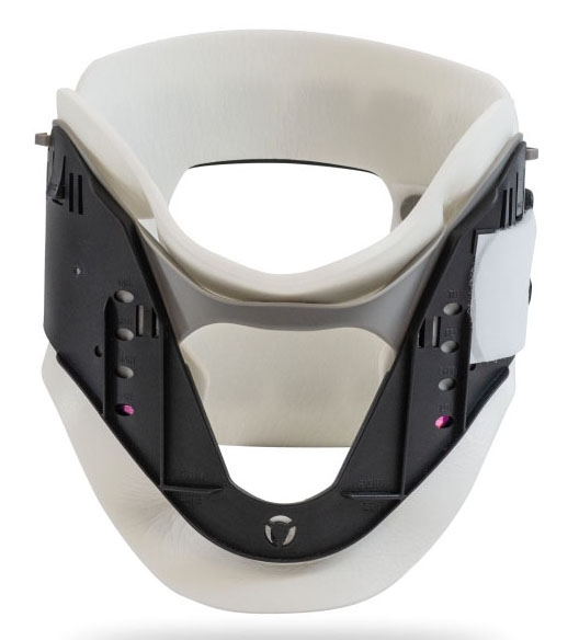 """DJO 7983131 1.75""""/2.5""""/3""""/3.5"""" H Adjustment, Adult, 11 to 23"""" Neck Circumference, Latex-Free, Injection Molded Polyethylene, 1-Piece, Cervical Collar"""