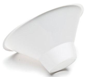 GRX 2299 White, Polypropylene, Nylon Mesh Screen, Calculi Strainer (100 per Case)