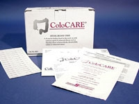 HEL 5651 Disposable, Fecal Occult Blood Test with ColoCARE Test/Patient Instruction Sheet/ColoCARE Reply Card and ColoCARE Dispensed Today Label (50 per Pack)