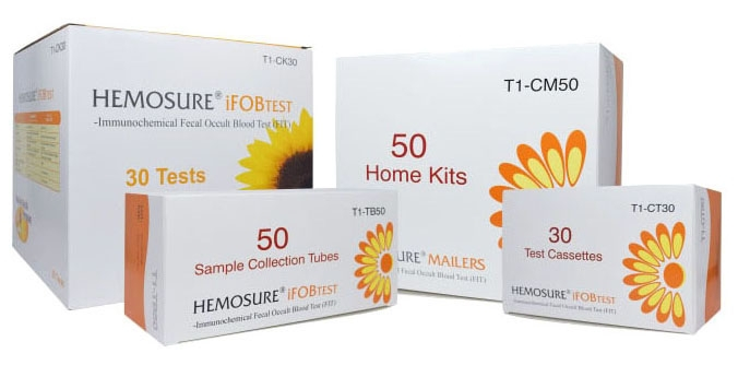 HEM T1TB50 Lead-Free, Fecal Occult Blood Test Collection, Sample Collection Tube (50 per Pack)