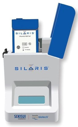 GEN 1026 Direct Nasal Swab, Influenza A and B Test Silaris Dock