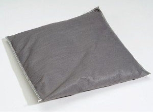 "SPT GPIL1010 10"" x 10"", Gray, Universal, Absorbent Pillow (40 per Pack)"