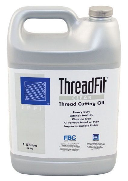 1 Gallon Can, Clear Amber Cutting Oil