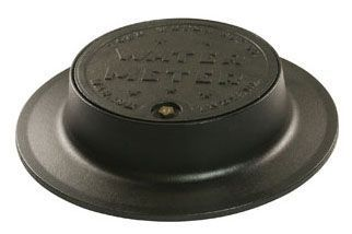 "20-1/8"" x 4"" Frame, Iron, Water Meter, Cover for Meter Box"
