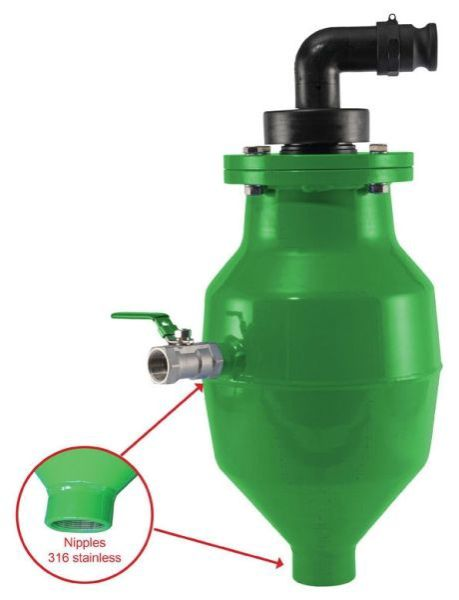 """2"""" NPT Female, 0 to 250 PSI, Epoxy Coated Steel, Automatic, Air Release Valve"""