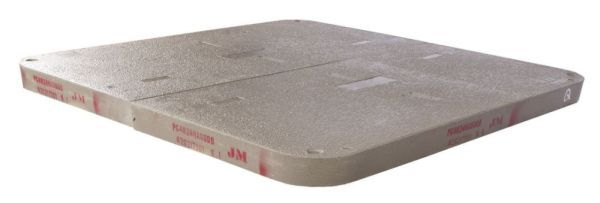 "30"" x 48"" x 3"", Polymer Concrete, Blank Logo, 1-Piece, Blank, Heavy Duty, Enclosure Cover"