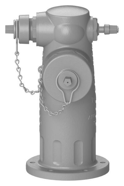 "4-1/2"" x 2-1/2"", 250 PSI, Ductile Iron, 2-Way, Standard, Top, Wet Barrel, Fire Hydrant"