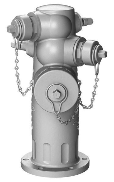 "4-1/2"" x 2-1/2"", 250 PSI, Ductile Iron, 3-Way, Standard, Top, Wet Barrel, Fire Hydrant"