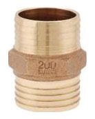 IBCP05LF 1 BRASS INS X INS COUPLING (OLD# CB4TLF)