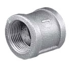 MBCP06 1-1/4 BLACK MALLABLE IRON COUPLING