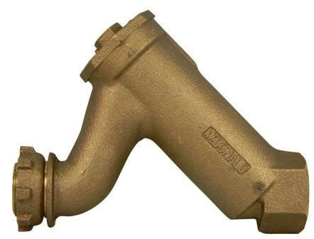 "3/4"", Yoke Star Nut x FPT, 175 PSIG, Lead-Free, Brass, In-Line Accessible, Dual Check Valve"