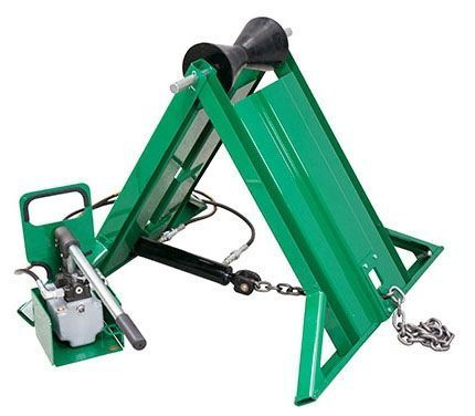"4"" IPS-20"" OD, 2750 Lb Capacity, Pipe Support Stand with Manual Chain"