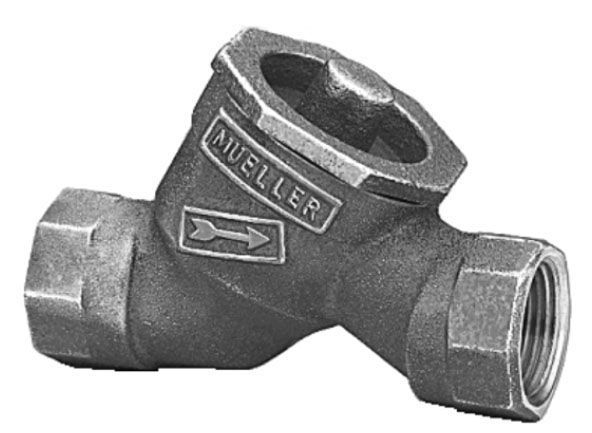 "3/4"" Dual Check Valve - FIP X FIP, Straight, In-Line, Lead-Free, Cast Brass Alloy"