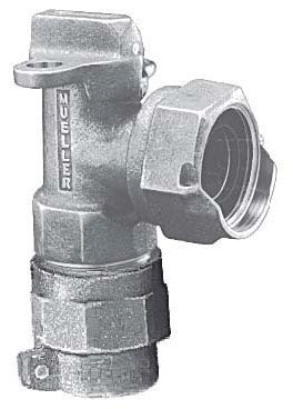 """5/8"""" x 3/4"""" Meter, 5/8"""" x 3/4"""" x 3/4"""" Pipe, CTS Pack Joint x Meter Swivel Nut, 180D Turn, Lock Wing, Ground Key, Angle, Meter Valve"""