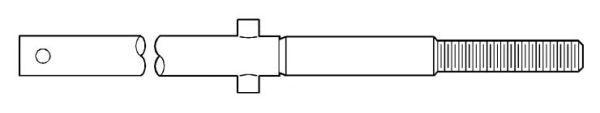 "27-9/16"" L, Upper Stem, Stem for 4-1/2"" and 5-1/4"" Super Centurion Fire Hydrant"