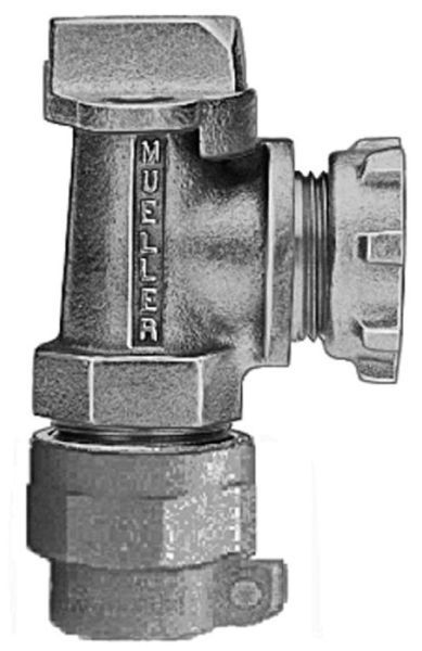 """5/8"""" x 3/4"""" Meter, 5/8"""" x 3/4"""" x 3/4"""" Pipe, CTS Pack Joint x Lock Nut, 180D Turn, Lock Wing, Angle, Meter Valve"""