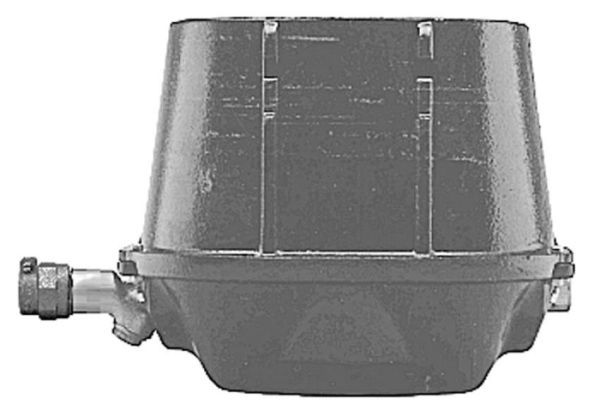 """7"""" H, 5/8"""" x 3/4"""" Meter, Cast Iron, Meter Box with Non-Locking Lid"""