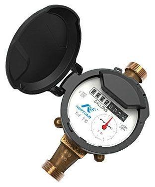 """5/8 """" x 3/4 """", Lead-Free, Water Meter"""