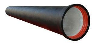"""8"""", 18 to 20' Length, 150 to 350 PSI, Zinc Coated, Ductile Iron, Joint Pipe"""