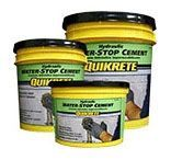 50 Lb Pail, Grey to Grey-Brown, Hydraulic Water-Stop Cement
