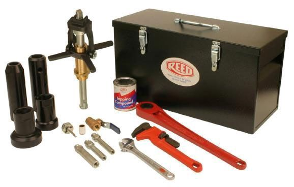 "3/4-1"" AWWA, Drilling Machine Kit with 1-1/2 to 2"" NPT Adapter"