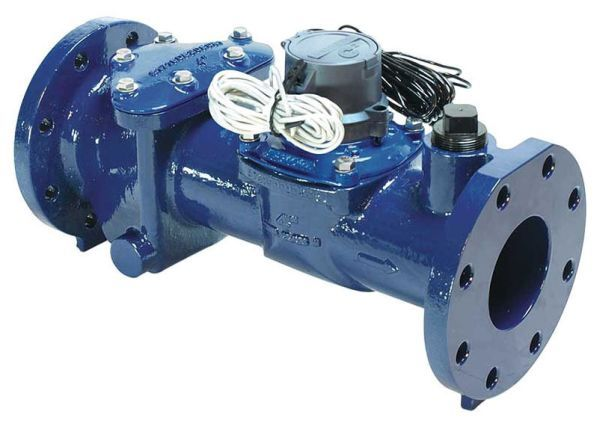 """2"""", Lead-Free, 200 PSI, 0.5 to 200 GPM, Water Meter with Integral Flow Straightener"""