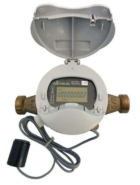 "1"", Lead-Free, 150 PSI, 3 to 50 GPM, Water Meter"