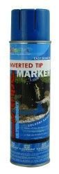 20 Oz Can, Precaution Blue, Solvent Based Marker, Marking Paint