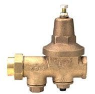"1"", FPT x FPT, 300 PSI, Cast Bronze, Lead-Free, Less Union, Water Pressure Reducing Valve with Strainer/Integral Bypass Check Valve"