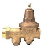 """3/4"""", FPT x FPT, 300 PSI, Cast Bronze, Lead-Free, Less Union, Water Pressure Reducing Valve with Strainer/Integral Bypass Check Valve"""