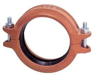 """4"""" x 4"""", Ductile Iron, Grooved, Rigid, Coupling"""