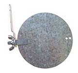 DA5970 SN-6 6in GALVANIZED DAMPER