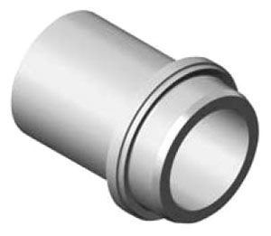 "4"" x 4"", IPS x Mechanical Joint, DR 17, Polyethylene, Straight Adapter"