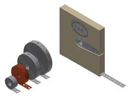 24P100 3/4X100 GALV HANGER STRAP (OLD# 524-100 )