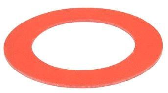 "4"" x 1/8"", Red Rubber, Ring, Gasket for Class 125 Flange Fittings"