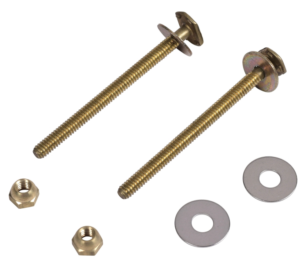 90-154 1/4 X 3-1/2 SOLID BRASS CLOSET BOLT WITH NUT & WASHER (OLD 8537H)