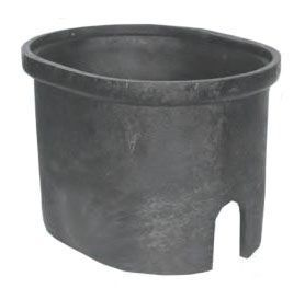 "14.5"" x 18-1/8"" x 14"", Oval Shape, Polyethylene, Cast Iron, Water, Meter Box"