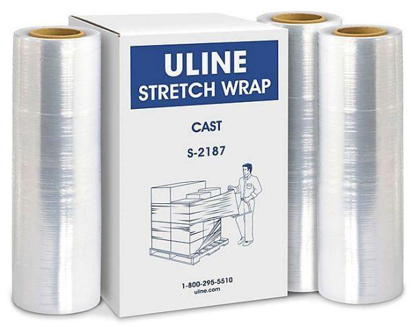 """18"""" x 1500', Linear Low Density Polyethylene, Stretch Wrap"""