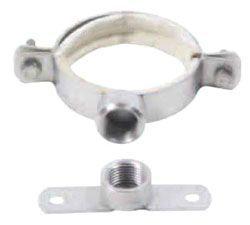 """4"""", Stainless Steel, EPDM Sealing Ring, Pipe Hanger"""