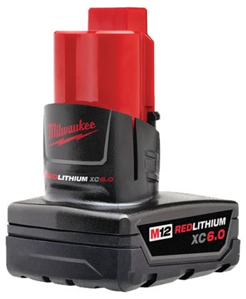 Milwaukee Tool M12 Redlithium Xc 6.0 Ex Tended Capacity Battery