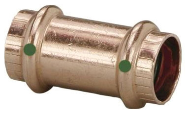 "1/2"" Copper Press Repair Coupling"