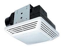 Air King Bath Fan with Light, 70CFM/2.0 Sones