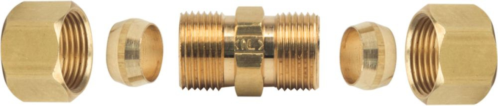 "BrassCraft 3/8"" OD Compression Union Coupling"