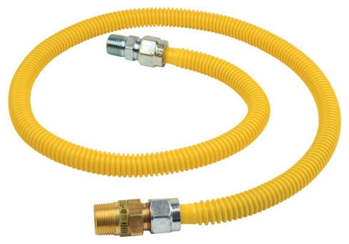 "BrassCraft 3/4"" ID FIP x Mip x 36"" Gas Flex Connector"