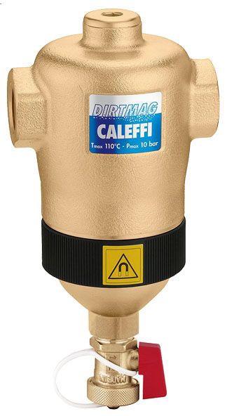 "Caleffi 1-1/4"" Sweat Dirt Separator with Magnet"